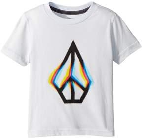 Volcom Peace Blur Short Sleeve Tee Boy's T Shirt