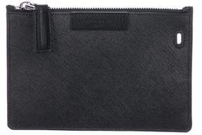 Givenchy Leather Zip Pouch w/ Tags
