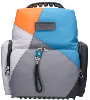 Kenzo Tarmac Multicolor Nylon Backpack
