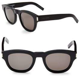 Saint Laurent 49MM Wayfarer Sunglasses