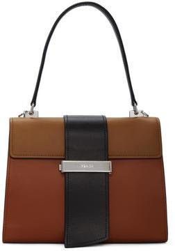 Prada Tricolor Metal Ribbon Bag