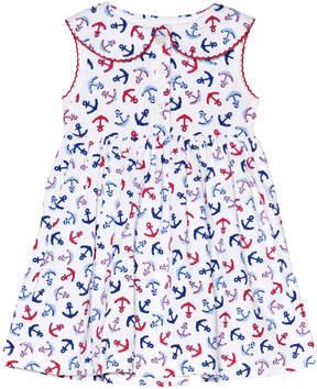 Rachel Riley Anchor Jersey Dress