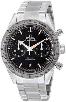 Omega Speedmaster 57 Chronograph Automatic Black Dial Stainless Steel Men's Watch 33110425101002