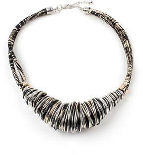 Amrita Singh Austrian Crystal Two-Tone Gaga Necklace