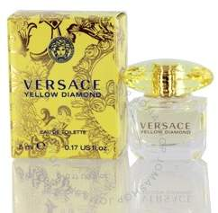 Versace Yellow Diamond by EDT Mini 0.17 oz (5.0 ml) (w)
