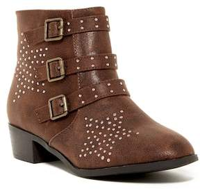 Mia Studded 3 Buckle Boot (Little Kid & Big Kid)