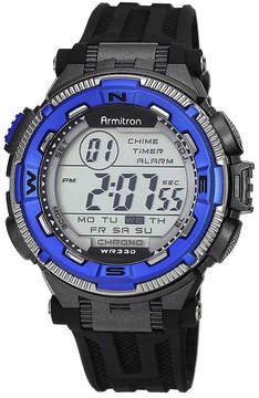 JCPenney Armitron Mens Bright Blue Chronograph Digital Sport Watch 40/8301BLU