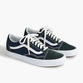 J.Crew Vans® for Old Skool sneaker in blue and green suede