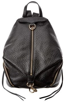 Rebecca Minkoff Julian Leather Backpack. - BLACK - STYLE