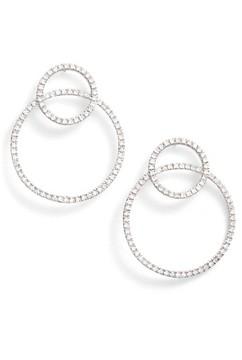 Bony Levy Women's Prism Double Circle Diamond Earrings (Nordstrom Exclusive)