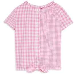 Vineyard Vines Toddler's, Little Girl's& Girl's Gingham Top