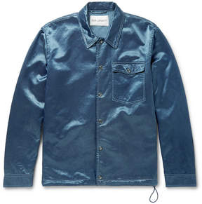 Our Legacy Cotton-Blend Satin Coach Jacket
