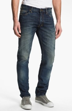 PRPS Men's Barracuda Straight Leg Selvedge Jeans