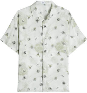 Jil Sander Printed Short Sleeve Shirt