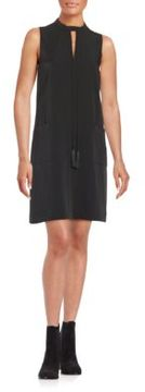 Erin Fetherston Keyhole Crepe Shift Dress