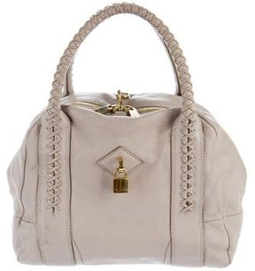 Marc Jacobs Leather Padlock Hobo - PINK - STYLE