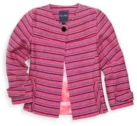 Oscar de la Renta Toddler's, Little Girl's& Girl's Tweed Jacket
