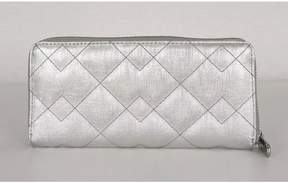 Marc by Marc Jacobs Silver Quilted Wallet