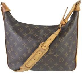 Louis Vuitton Boulogne cloth handbag - BROWN - STYLE