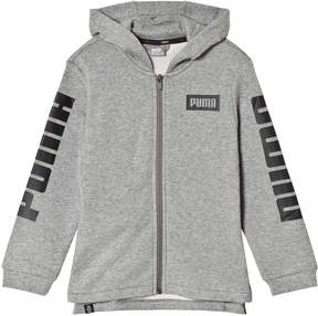 Puma Grey Rebel Zip Hoody