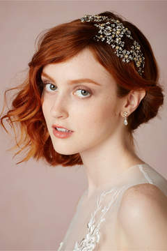 BHLDN Twinkling Flare Headpiece