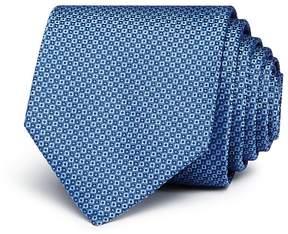 HUGO Micro-Square Silk Skinny Tie