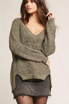 Forever 21 Pinhole Ribbed Sweater