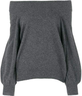 RtA off shoulder knitted top