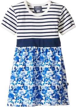 Toobydoo Baby Blue Belt Dress (Infant/Toddler)