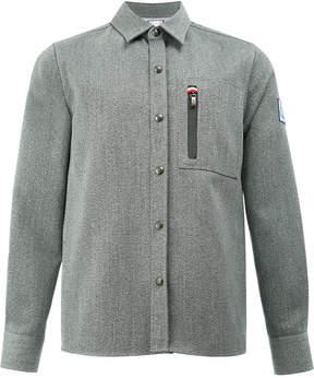 Moncler Gamme Bleu zip-detail shirt