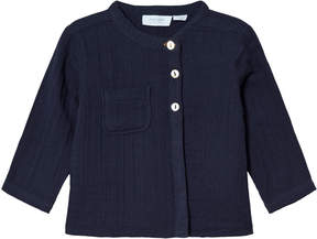 Mini A Ture Noa Noa Miniature Blue Long Sleeved Blouse with Pocket