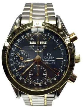 Omega Speedmaster 18K Yellow Gold & Stainless Steel 39mm Watch