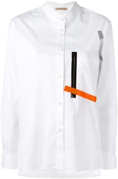 Christopher Kane long sleeve shirt with tape
