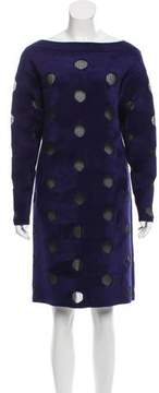 Alaia Long Sleeve Mini Dress