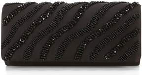 Adrianna Papell Novel Wave-Beaded Clutch