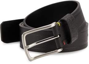 Robert Graham Men's Textured Faux Leather Belt