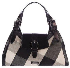 Burberry Beat Check Shoulder Bag - BLACK - STYLE