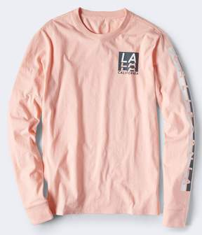 Aeropostale Long Sleeve LA California Graphic Tee