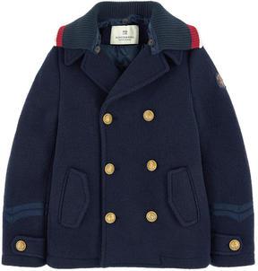Scotch & Soda Wool blend reefer jacket