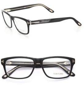 Tom Ford 56MM Square, Acetate Optical Glasses