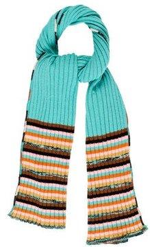 M Missoni Wool Striped Scarf