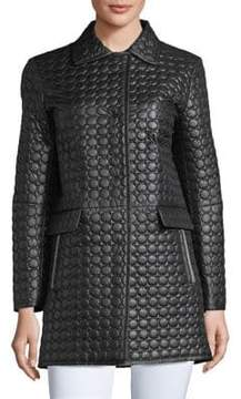 Cinzia Rocca Icons Quilted A-Line Coat