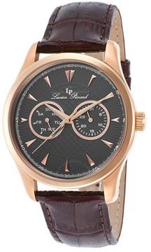 Lucien Piccard Stellar Grey Dress Men's Watch 12761-RG-014-BRW