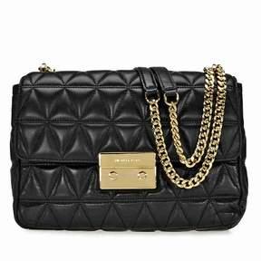 Michael Kors Sloan Extra Large Quilted Shoulder Bag- Black - BLACK - STYLE