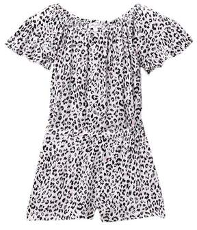 Splendid Voile Print Romper (Little Girls)
