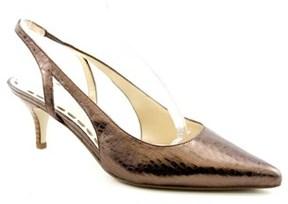 Enzo Angiolini Jumble Women Pointed Toe Leather Slingback Heel.