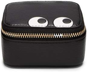 Anya Hindmarch Keepsake Eyes leather box