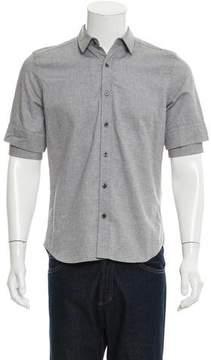 Public School Layered Sleeve Button-Up Shirt