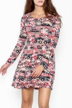 Everly Tribal Print Dress