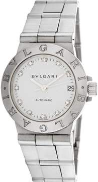 Bulgari Women's Vintage Bvlgari Diagano Automatic Diamond Watch, 29.5mm